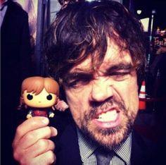 Peter Dinklage & Pop! Tyrion Lannister http://www.funkosp.com/amz/B00GXOAD5O/