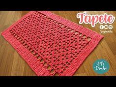Tapete de crochê simples para cozinha - JNY Crochê YouTube