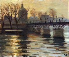 Pont des Arts - Marcel Dyf