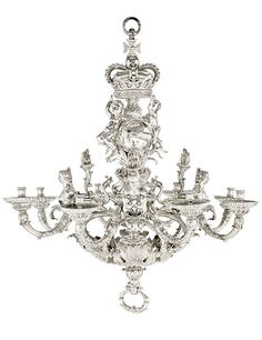 #1 The most expensive chandelier ever sold at auction was a Givenchy Royal Hanover German silver eight-light chandelier by William Kent. It earned more than $9 million at Christie's London's July 7, 2011, sale. The piece, designed in 1736, was valued at $4 million to $5.7 million.