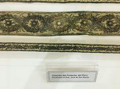 Cinturón del Protector del Perú. Visita al Museo Histórico Nacional Accessories, Initials, Museums, Jewelry Accessories