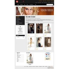 We just published a new great #tomatocart #fashion #template