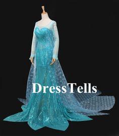 Frozen Cosplay #Elsa Costume Custom #Elsa dress #Elsa cosplay dress
