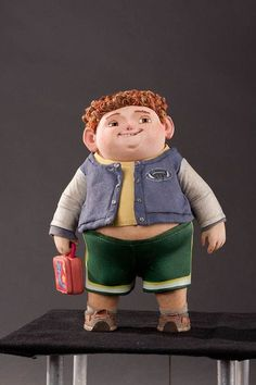 animation news + art — ParaNorman puppets. Clay Animation, Animation News, Animation Stop Motion, Cartoon Pics, Cartoon Styles, Cartoon Characters, Character Concept, Concept Art, Character Design