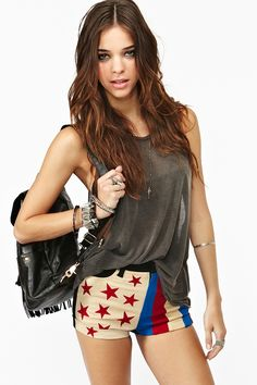 I need these for the 4th of July! Stars & Bars Short