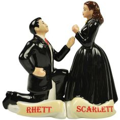 Westland Giftware Gone with the Wind Magnetic Scarlett and Rhett Proposal Salt and Pepper Shaker Set, 4-1/2-Inch by Westland Giftware, http://www.amazon.com/dp/B0052TD23Q/ref=cm_sw_r_pi_dp_bn7hsb0QGETFV