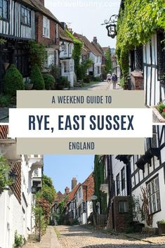 A guide to visiting Rye in East Sussex, England. What to see and do in Rye, East Sussex, with tips on the best things to see, do, eat and drink and where to stay for a perfect weekend break to Rye, East Sussex #Rye #EastSussex #England #weekendbreak Travel Guides, Travel Tips, Uk Holidays, Travel England, Weekend Breaks, East Sussex, Rye, Wanderlust Travel, Staycation