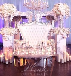 Wedding Throne Chairs / Wedding Stage/His & Hers Chairs Love Seat FOR HIRE ONLY