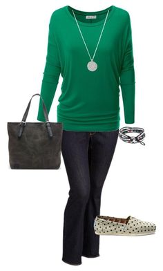 """Plus Size Outfit, Casual Fall Outfit"" by jmc6115 on Polyvore featuring Old Navy, TOMS, Fall, plussize and fallfashion"