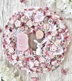 Hydrangeas, Floral Arrangements, Floral Wreath, Bunny, Easter, Spring, Flowers, Dress, Decor