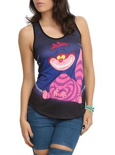 Alice In Wonderland Cheshire Cat Tank Top.