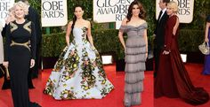 a few more of my favorite looks from last night. #goldenglobes
