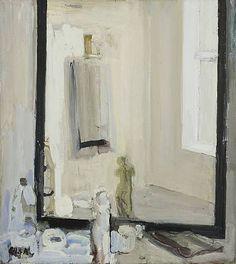 eilif amundsen - Atelier speil olje på lerret, 78 x 70 cm Painting Still Life, Still Life Art, Klimt, Classic Paintings, Light And Space, Art World, All Art, Art Inspo, Painting & Drawing