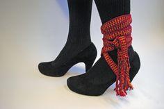 Pirtanauha - Traditional woven finnish sash worn round the ankle