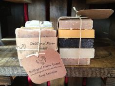 Hey, I found this really awesome Etsy listing at https://www.etsy.com/listing/106228643/soap-sampler-pack
