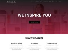 Business Zita - WordPress theme | WordPress.org