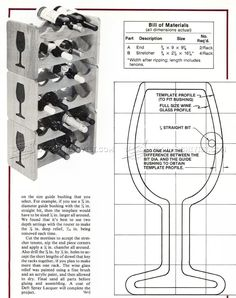 Stacking Wine Rack Plans - Furniture Plans Woodworking Plans