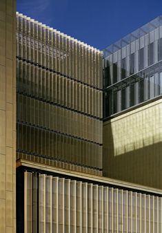 Finaliste/Shortlisted: Archives départementales, Lyon, France | Copperconcept.org #copper #cuivre #architecture #building #design