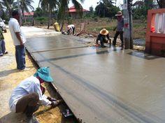 รับเหมาก่อสร้าง ต่อเติม รับสร้างบ้าน Front Service ช่วยท่านได้: รับเหมาก่อสร้าง งานเทถนน