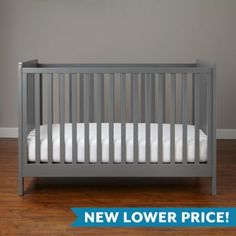 Carousel Crib (Grey)  | The Land of Nod