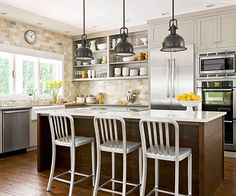 Get inspired by these kitchen lighting ideas and learn how to develop an appropriate lighting plan for your kitchen.