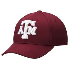 5e89fcb777abe Men s adidas Maroon Texas A M Aggies Basic Structured climalite Adjustable  Hat