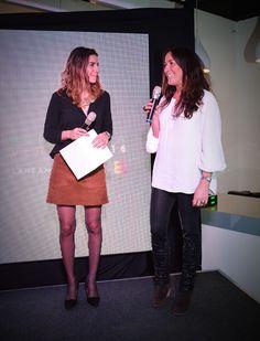 María Luisa Godoy y Martita Guzmán en Lanzamiento Carteras Secret.