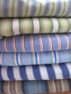 Striped shirt quilt -- another take on the theme