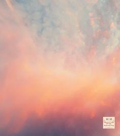 Backdrop pink sky