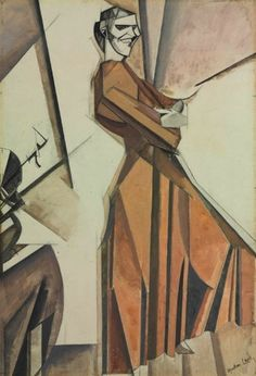 File:Smiling Woman Ascending a Stair, Wyndham Lewis, Figure Painting, Figure Drawing, Wyndham Lewis, Walter Sickert, Modernist Movement, Fashion Sketches, Painting Techniques, All Art, Modern Art