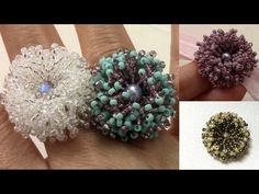 Coral Flower Ring en Español - YouTube
