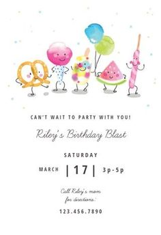 Blast from the Past Invitations 8 ct
