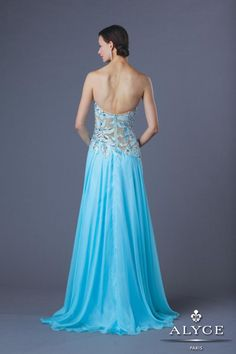 Alyce Prom Dress Style #6202 Back View  | Spring 2014