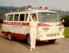 Old Ford Van Ambulances