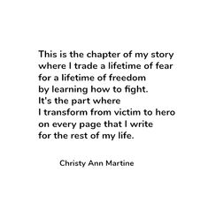 Inspirational quotes about survival. Powerful women - self-esteem poetry - Christy Ann Martine