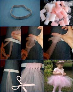 Tu tu skirt instructions