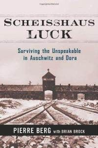 """""""In 1943, eighteen year old Pierre Berg picked the wrong time to visit a friend''s house -- at the same time as the Gestapo. He was thrown into the infamous Auschwitz concentration camp. But . . . he managed to survive . . . and ultimately got out alive. """"As far as I''m concerned,"""" says Berg, """"it was all shithouse [scheisshaus] luck."""" Such begins the first memoir of a French gentile Holocaust survivor . . .   Utterly frank and tinged with irony, irreverence, and gallows humor."""""""