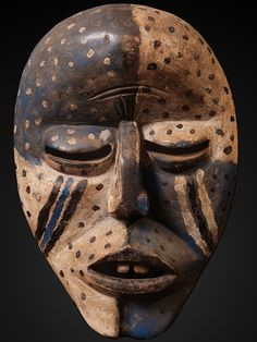 "amare-habeo: "" Woyo Ndunga Mask Woyo culture, Western Africa, Congo Beginning of 20-th century """