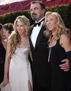 tom selleck's family photo gallery | Tom Selleck and family arrive at Emmys – Moms & Babies – Celebrity ...