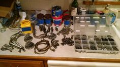You know you have an understanding wife when you clean turbo parts in your kitchen!!!