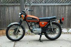 Honda CB125S Motorcycle