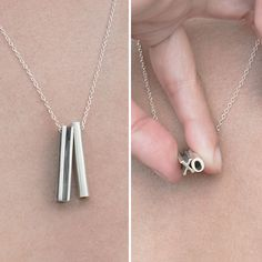 Mother's Day might be over, but we bet a #1 mom would love to wear this hidden message necklace any day of the year.