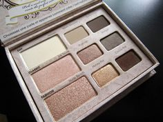 I need to stop by Sephora. Too Faced Natural Eye Palette.