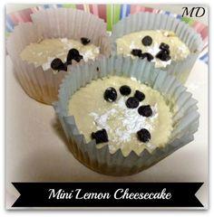 Low Calorie Mini Lemon Cheesecake