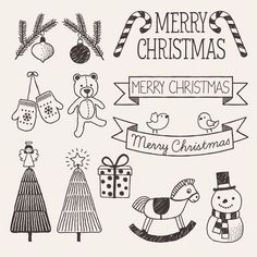 Image result for christmas eve doodles