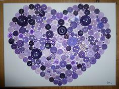 Button Heart