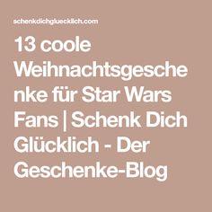 13 coole Weihnachtsgeschenke für Star Wars Fans | Schenk Dich Glücklich - Der Geschenke-Blog Star Wars Film, Math Equations, Blog, Man Gifts, Cool Christmas Gifts, Blogging