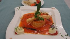Gâteau de foie sauce Orly #Beaujolais #LeChatard #Restaurant