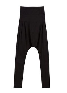 dd21287524 Solid Black High Waist Casual Haren Pants Solid Black, Dance Wear, High  Waist,