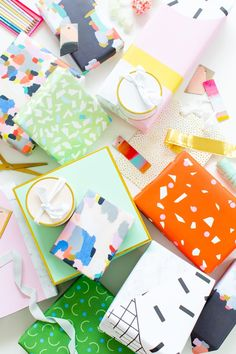 The Cutest gift wrap Ideas for any special occasion that your friends and family will love! Believe me, there's no shortage of gold and pattern here..